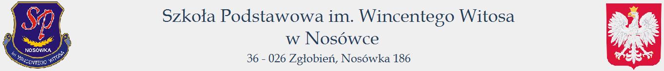 Szkoła Podstawowa im. Wincentego Witosa w Nosówce