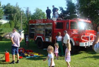 Wycieczka do Straży Pożarnej w Nosówce